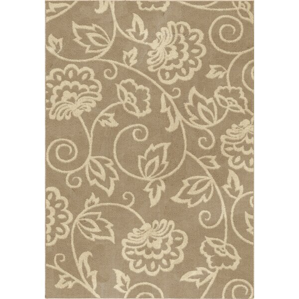 Warner Beige Area Rug by Threadbind