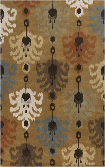 Romulus Espresso Area Rug by World Menagerie