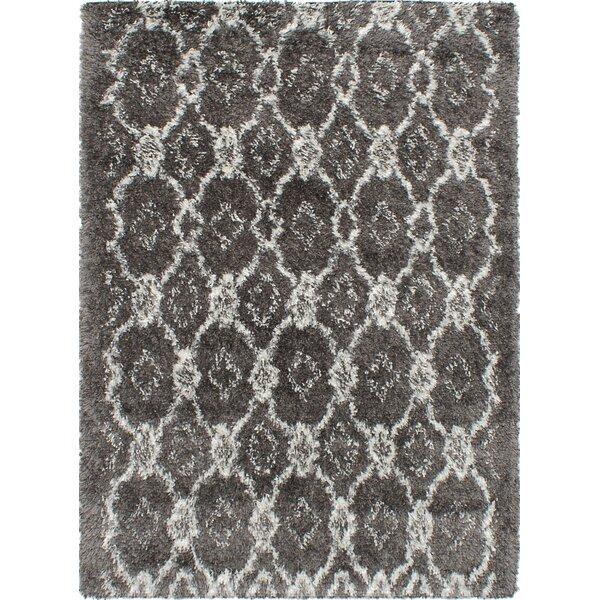 Corbett Dark Gray Area Rug by Foundry Select