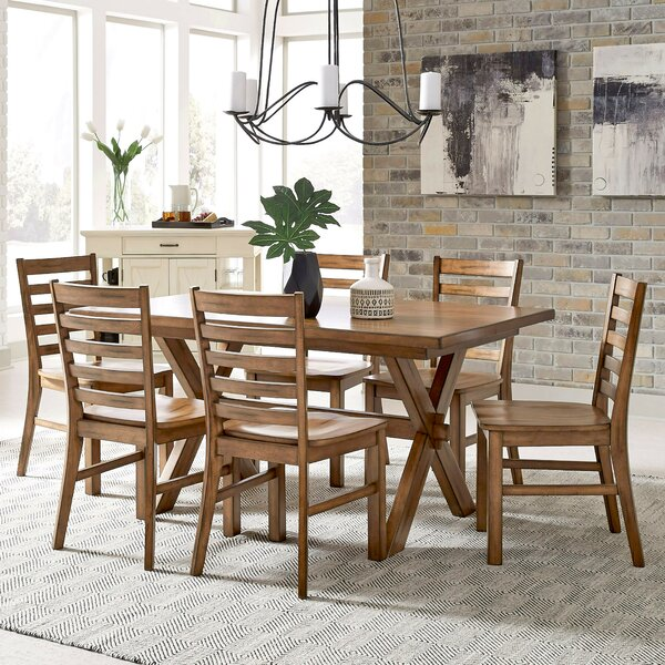 Milford 7 Piece Dining Set by Canora Grey Canora Grey