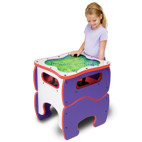 Kids Glow Maze Activity Table by Playscapes