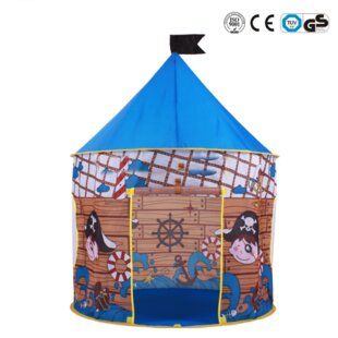 Princess Castle Pop-Up Play Tent with Carrying Bag By Myfuncorp
