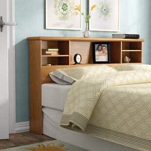 Theis Bookcase Headboard by Charlton Home