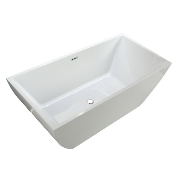 Dockweiler 67 x 33 Soaking Bathtub by MTD Vanities