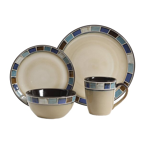 Huey Reactive Glaze 16 Piece Dinnerware Set, Service for 4 by Winston Porter