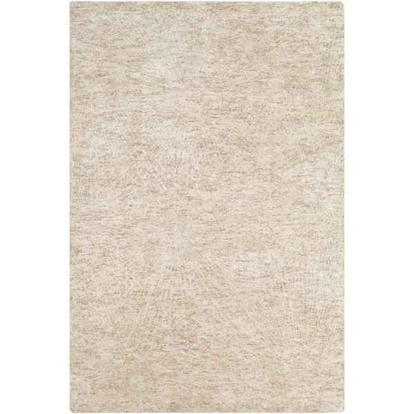 Colleen Handmade Tufted Tan/Beige Area Rug