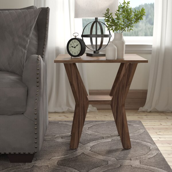 Haffey End Table by Ivy Bronx