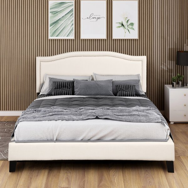 Arabela Upholstered Platform Bed by Latitude Run