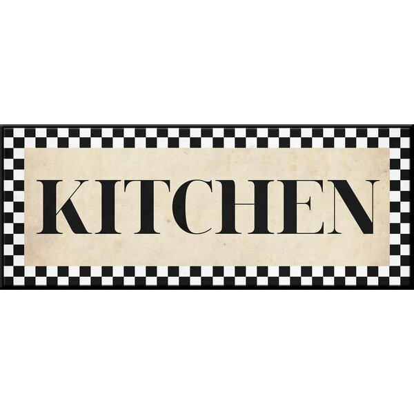 Kitchen Textual Art by PTM Images