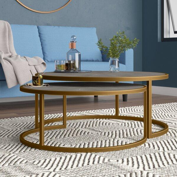 Demarcus 2 Piece Coffee Table Set By Brayden Studio®