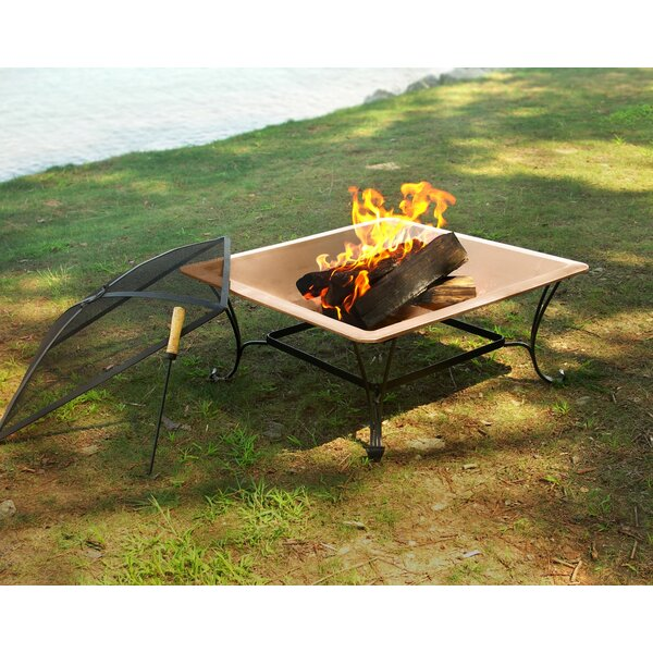 Copper Wood Burning Fire Pit by Corral