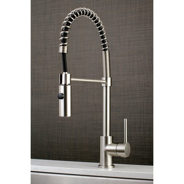 Concord Pull Down Single Handle Kitchen Faucet by Kingston Brass