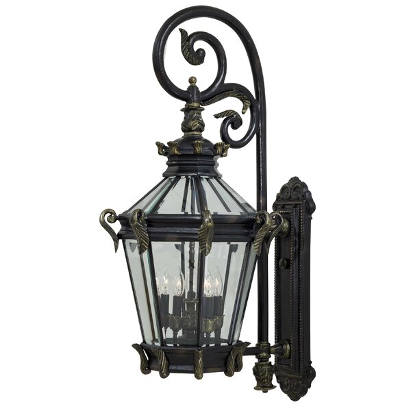 Stratford Hall 5-Light Outdoor Wall Lantern by Great Outdoors by Minka