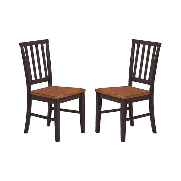 Weisgerber Slat Back Chair (Set of 2) by Darby Home Co