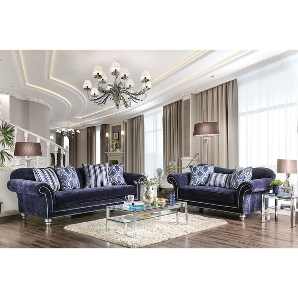 Lazo 2 Piece Living Room Set by Everly Quinn