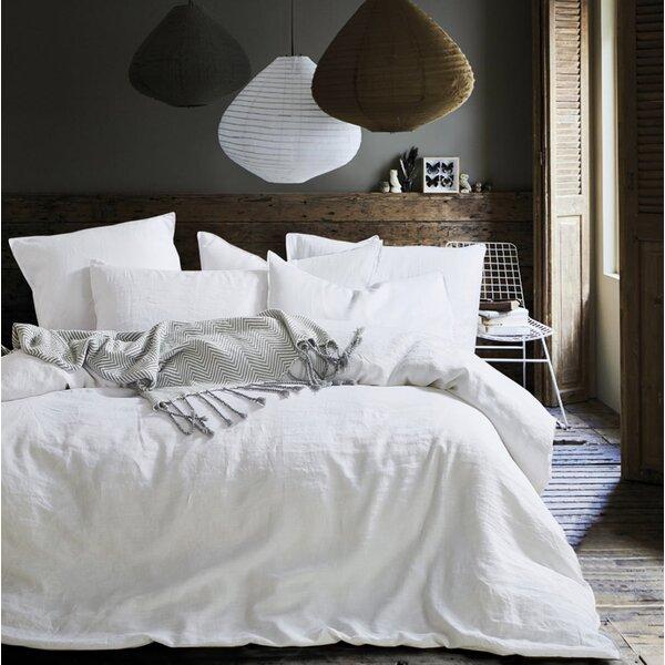 Clorinda Cotton 3 Piece Reversible Duvet Cover Set