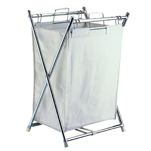 Review Folding Laundry Hamper By Rebrilliant
