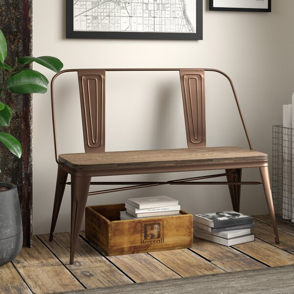 Rowtag Wood Bench by Trent Austin Design