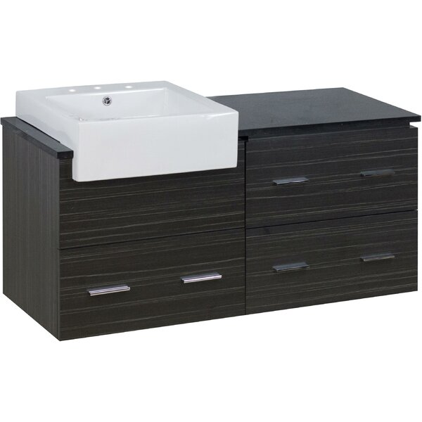 Batton 49 Single Bathroom Vanity Set by Orren Ellis