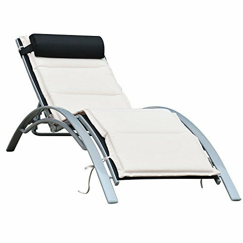 Shafer Reclining Chaise Lounge with Cushion by Freeport Park