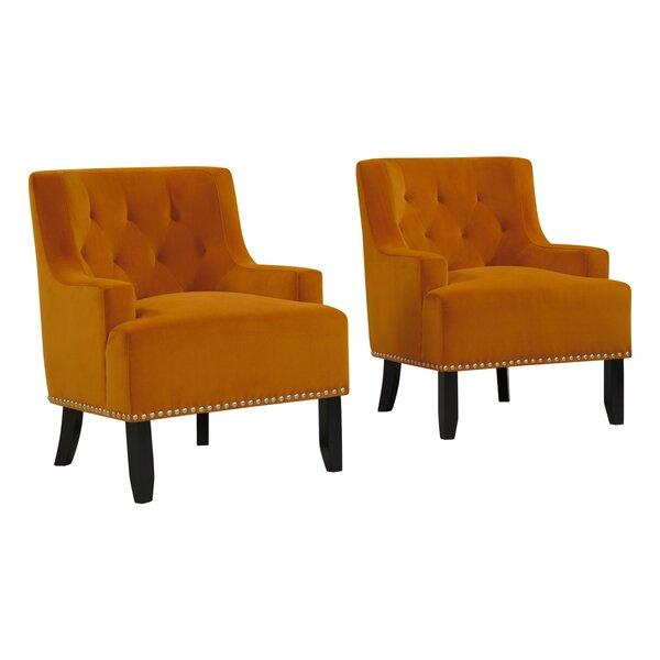 Oriole Armchair (Set of 2) by Rosdorf Park
