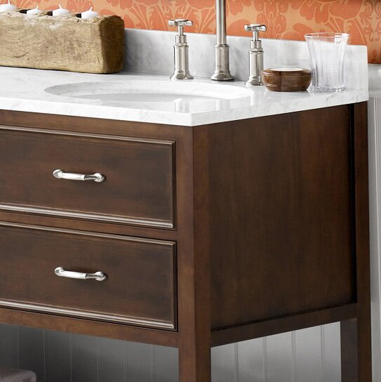 Newcastle 61 Double Bathroom Vanity Set by Ronbow