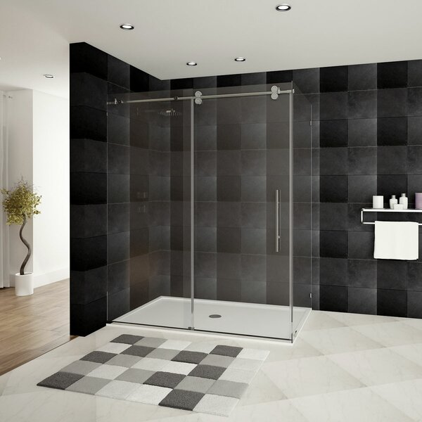 Ultra-D 56 x 79 Hinged Shower enclosure by LessCare