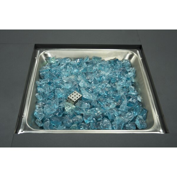 Tempered Glass Rocks by Pleasant Hearth