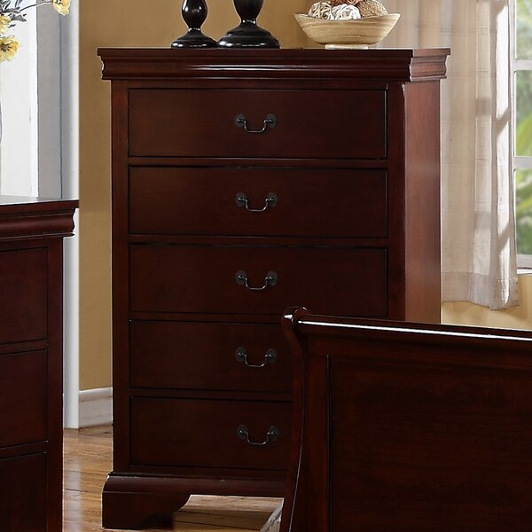 Venice 5 Drawer Chest by A&J Homes Studio