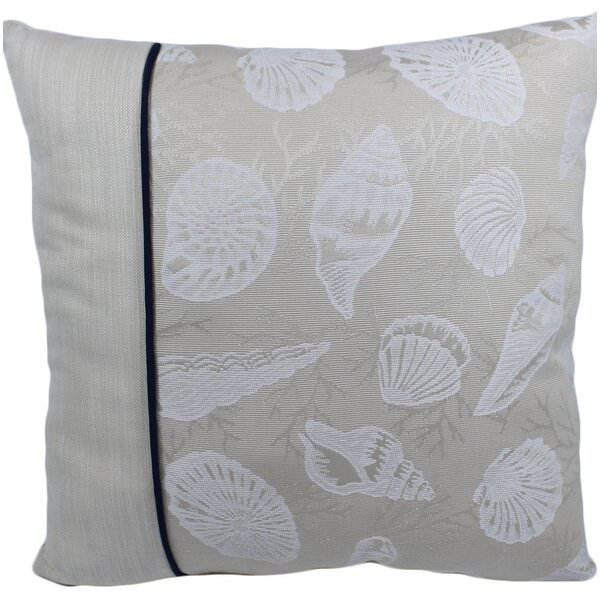 St. Marks Outdoor Throw Pillow by Rosecliff Heights