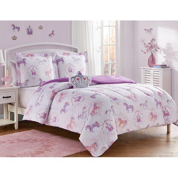 Buntingford Fairy Tales Reversible Comforter Set by Zoomie Kids