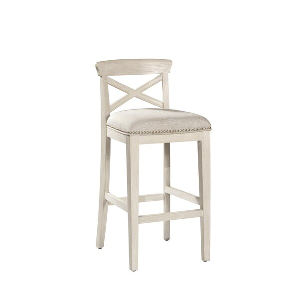 Rawlings Low Back Bar Stool (Set of 2) by Rosecliff Heights