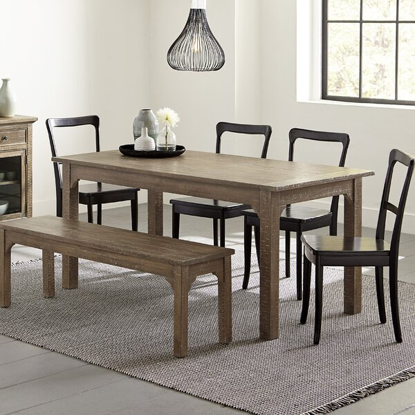 Branson 6 Piece Solid Wood Dining Set by Gracie Oaks