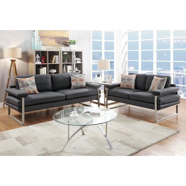 #2 Kraker 2 Piece Living Room Set By Orren Ellis Best Choices