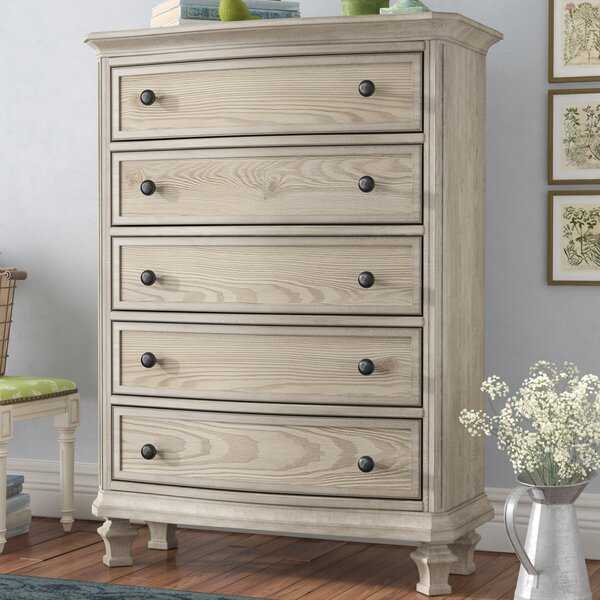 Bretenieres 5 Drawer Chest by Lark Manor