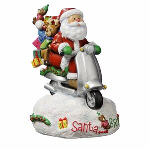 Santa...Bring It! Figurine