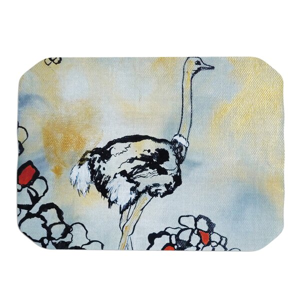 Ostrich Placemat by KESS InHouse
