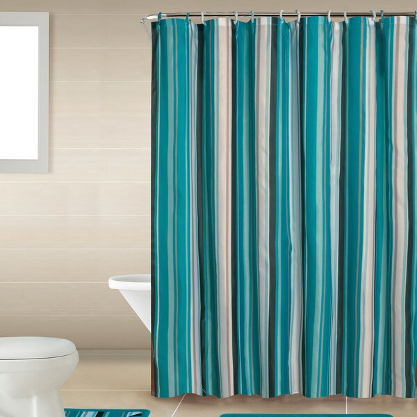 Junia Shower Curtain Set by Highland Dunes
