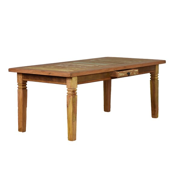 Resch Solid Wood Dining Table by Bloomsbury Market