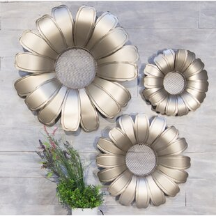 Metal Garden Flowers | Wayfair