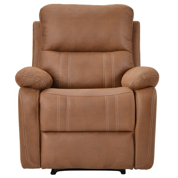 Manistee Faux Leather Manual Recliner W001749392