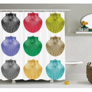 Seashells Species Shower Curtain