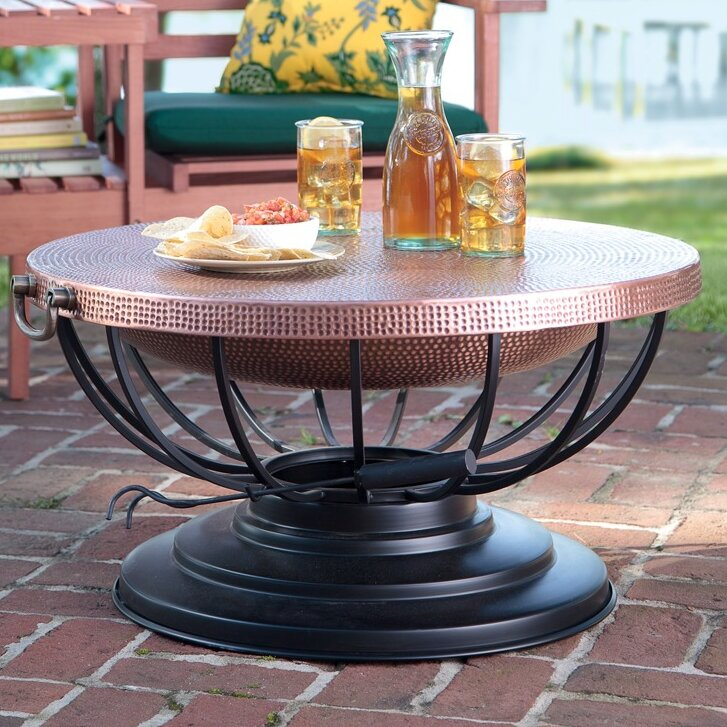 Copper Fire Pit Table Part 86