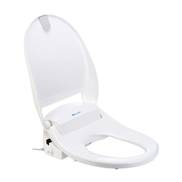 Swash 300 Elongated Bidet Toilet Seat Bidet by Brondell