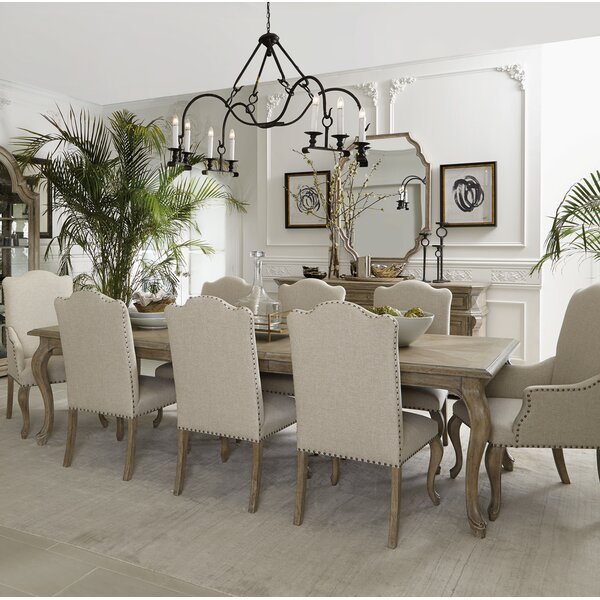 Campania 9 Piece Drop Leaf Dining Set by Bernhardt