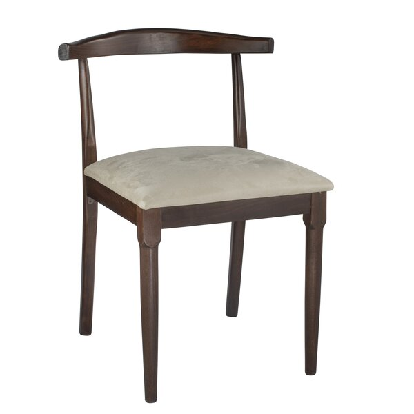 Ezra Solid Wood Dining Chair by Union Rustic