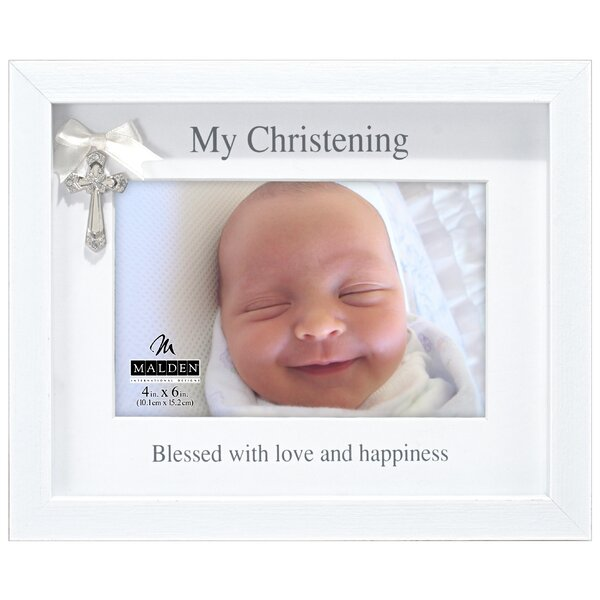 My Christening Picture Frame by Malden