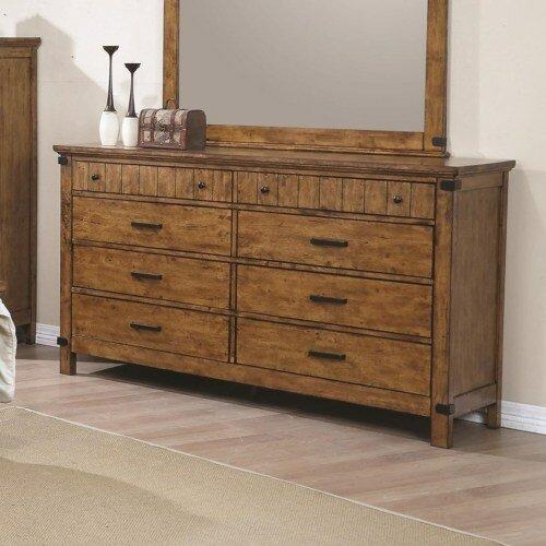 Hartford 8 Drawer Double Dresser by Loon Peak