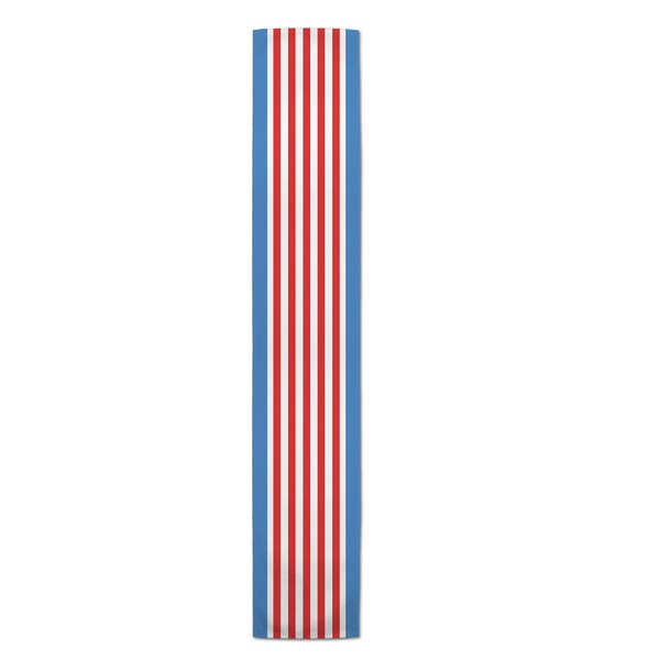 Marble Falls Stripes Table Runner by The Holiday Aisle