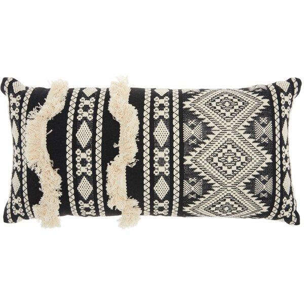 Denys Cotton Lumbar Pillow by Mistana